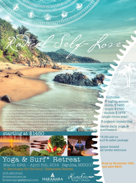 Yoga and Surf Retreat, Sayulita, Mexico