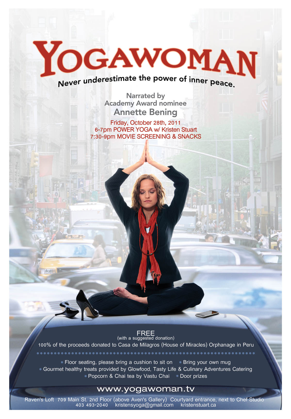 Watch Yogawoman Movie Online Free 2012